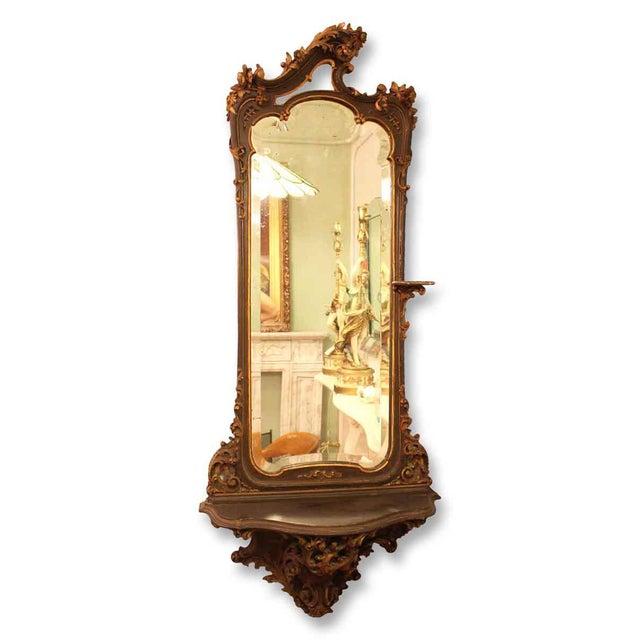 David Dangerous Entrance Hall Victorian House: Rococo Victorian Hall Mirror With Shelf