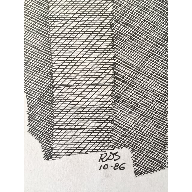 Image of Roger Stokes Pen and Ink Drawing I