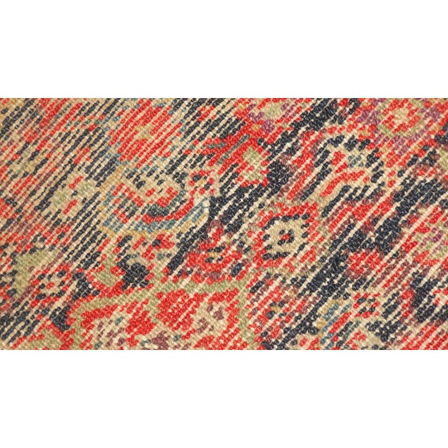 """Antique Persian Malayer Runner Rug - 15'5"""" x 3'2"""" - Image 4 of 4"""