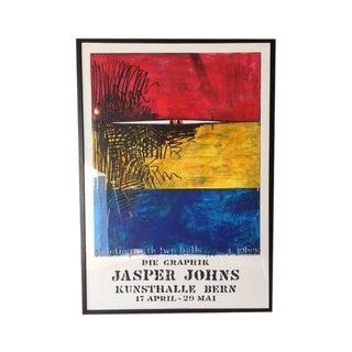Vintage Jasper Johns Framed Lithograph