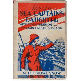 1944 'Log Of a Sea Captain's Daughter' Hardcover