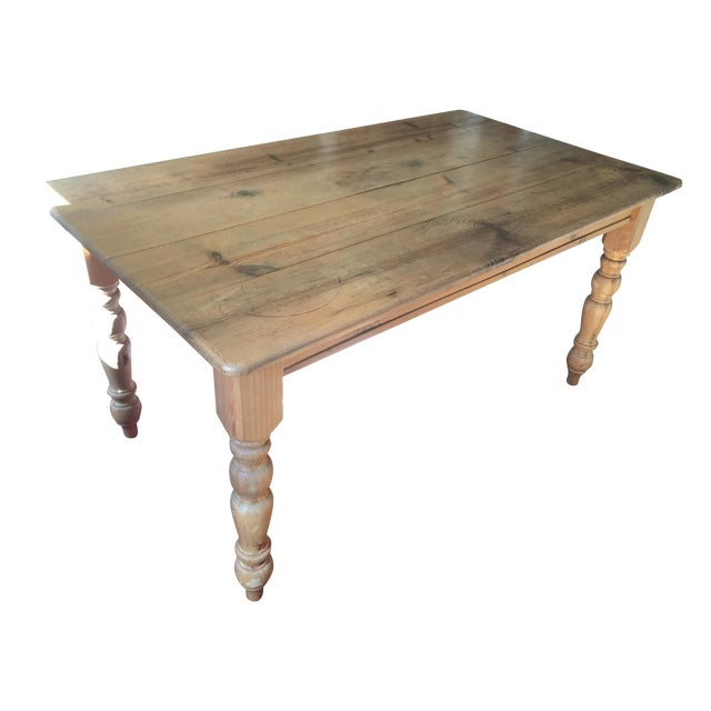 Image of Pottery Barn Dining Table