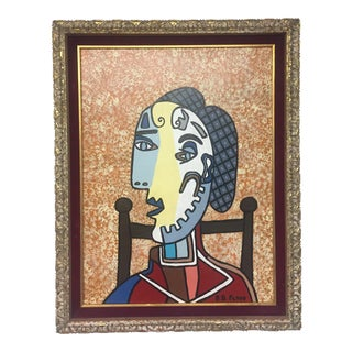 Contemporary Folk Artist B.D.Floyd Picasso Style