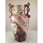 Image of English Victorian Majolica Vase