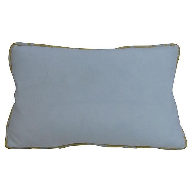 Elegant Italian Fortuny-Style Pillows, 2 Available - Image 4 of 4