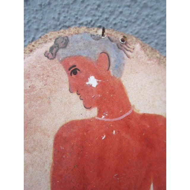 Fisherman Fresco Hand Made Greece - Image 6 of 10