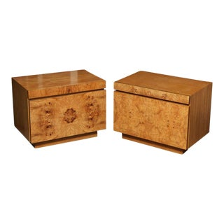 Milo Baughman for Lane Nightstands - A Pair