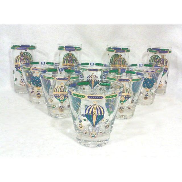Gilt Bohemian Balloon Bar Glasses - Set of 10 - Image 2 of 8