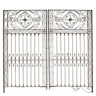 Argentine Art Nouveau Wrought Iron Gate