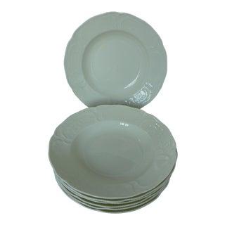 Rosenthal Classic Ivory Sanssouci Rimmed Soup Bowls - Set of 7
