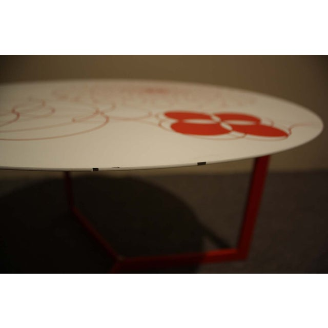 Image of Tomasella Italy Lacquered Side Table