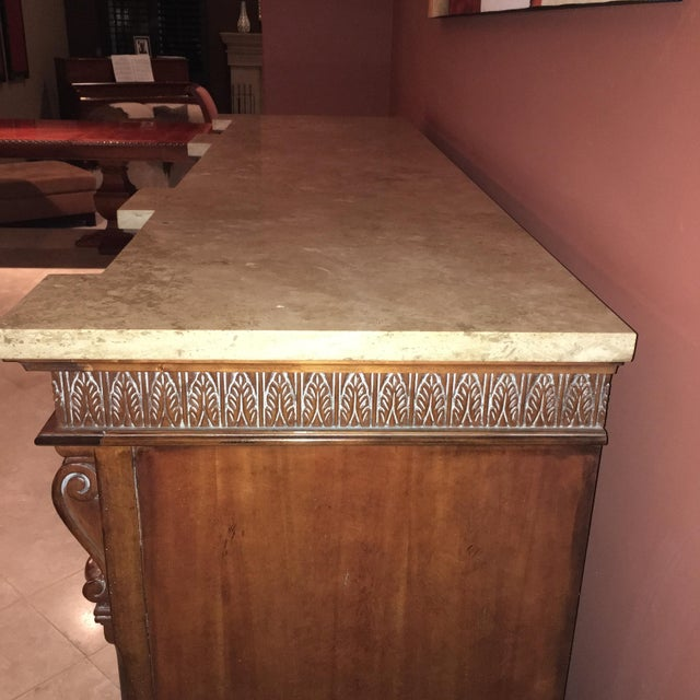 Torrean Marble Top Buffet - Image 4 of 11