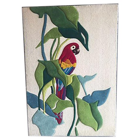 Parrot and Trees Tapestry - Image 1 of 8