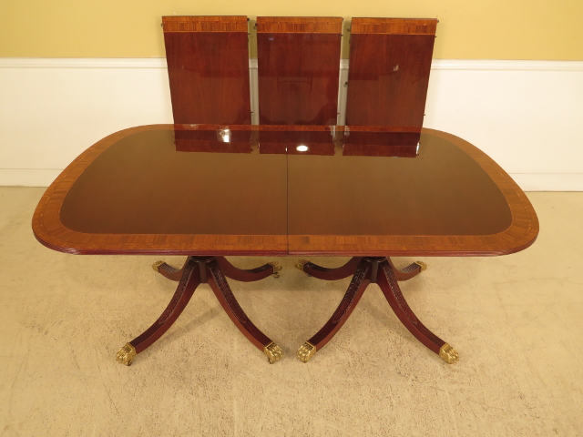 Councill Banded Mahogany Dining Table Chairish : 1414522f 7b5a 426a 8c75 40637588fe52aspectfitampwidth640ampheight640 from www.chairish.com size 640 x 640 jpeg 36kB