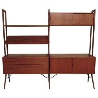 Danish Modern Module Wall Shelf by Kurt Ostervig