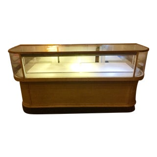 1930s Antique Wrap Display Case
