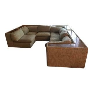 Vintage Milo Baughman for Thayer Coggin Mid-Century Modern Sectional Sofa