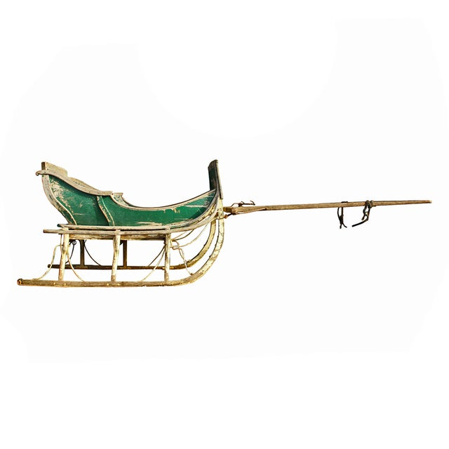 Antique Late 19th Century Industrial Cutter Sleigh - Image 2 of 7