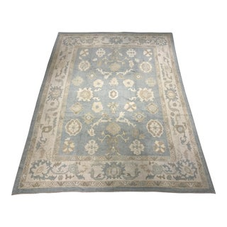 "Bellwether Rugs Vintage Inspired Turkish Oushak Area Rug - 9'2"" x 12'2"""