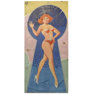 Hand-Painted Carnival Banner