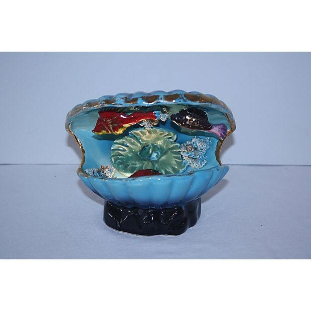 1950s French Vallauris Majolica Lamp - Image 2 of 4