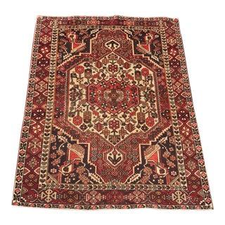 Vintage Persian Bactiari Rug - 5′3″ × 7′