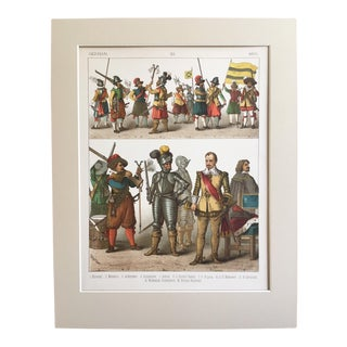 "19th Century ""German 1600"" Costume Print"