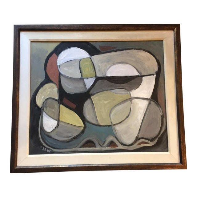 Original Abstract Painting by Stewart Ross - Image 1 of 7