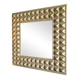 Hollywood Regency Geometric Mirror