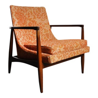 Mid-Century Lounge Chair Attributed to Ib Kofod-Larsen