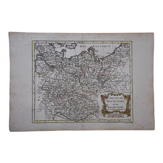 18th C. Antique French Map