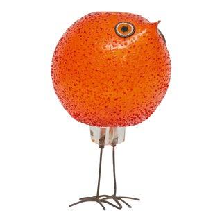 """Alessandro Pianon for Vistosi """"Pulcini"""" Glass Bird Sculpture"""