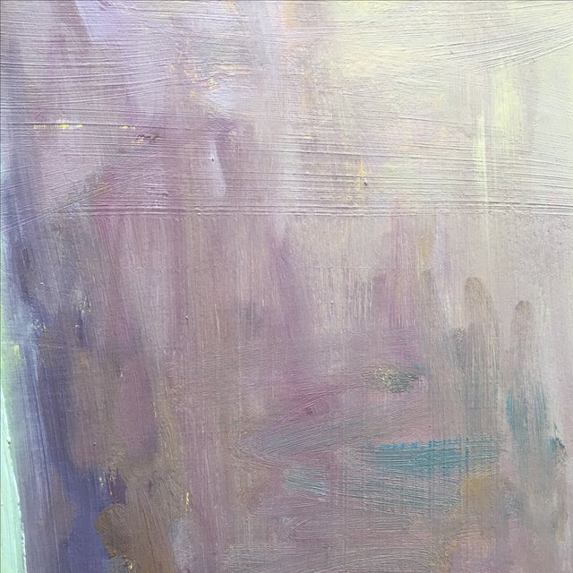 Vintage Abstract Still Life Painting - Image 8 of 11
