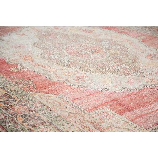 "Distressed Oushak Carpet - 7'6"" X 12'6"" - Image 3 of 10"
