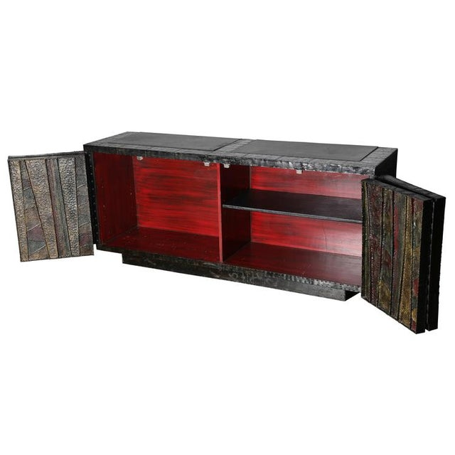 """EXCEPTIONAL 1962 PAUL EVANS """"DEEP RELIEF"""" CABINET - Image 5 of 10"""