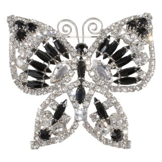 Dominique Deco Revival Butterfly Brooch