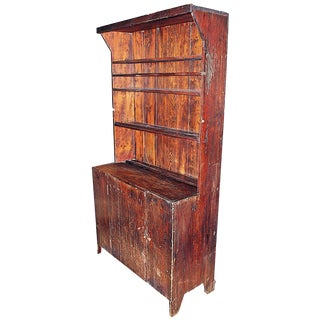 Antique Rustic Country Cupboard
