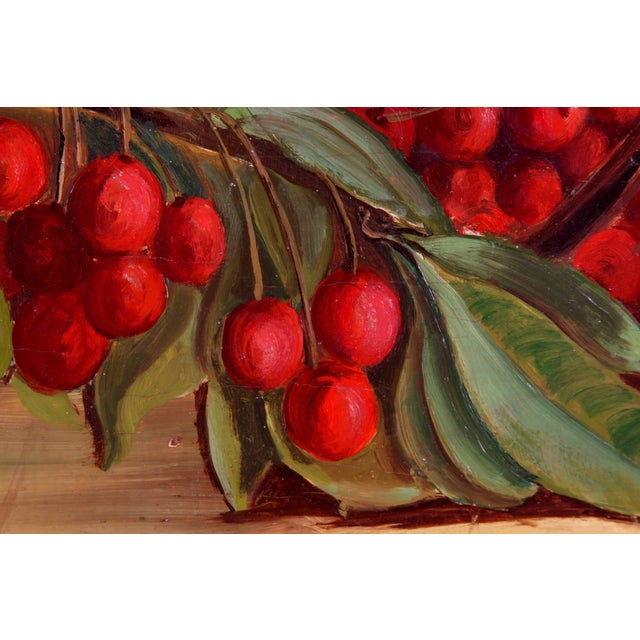 "Donato ""Cherries"" 1950 Painting - Image 3 of 7"