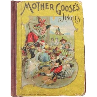 Antique Mother Goose Jingles Book