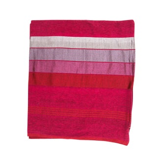 Striped Pink Safi Pillow Covers - A Pair