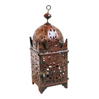 Moroccan Iron Kasbah Lantern