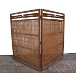 Image of Wooden Japanese Screen