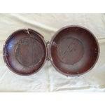 Image of Tibetan Round Wood Box