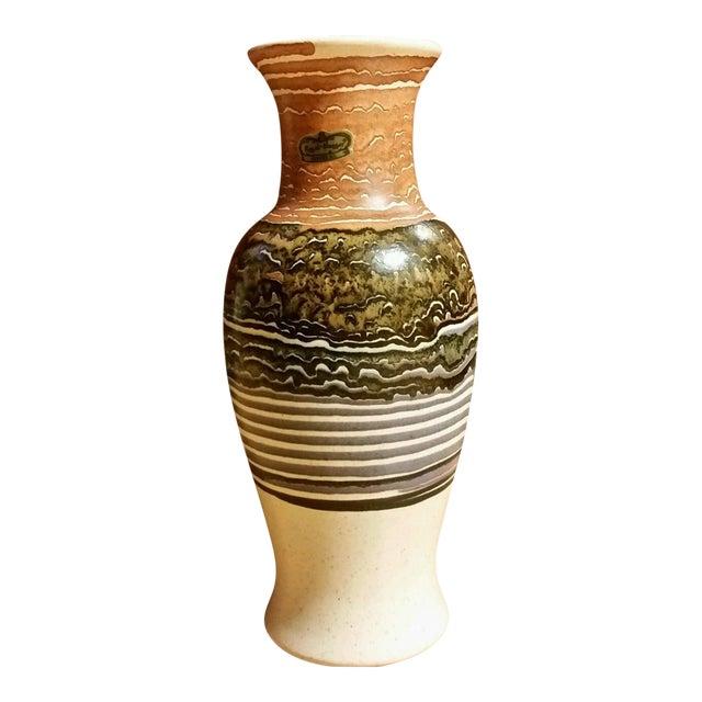 Royal Haeger Blue Lava Vase - Image 1 of 6