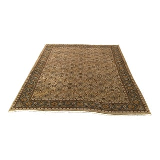 Gray Wool Persian Area Rug - 8′ × 11′6″