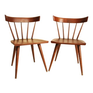 Paul McCobb Planner Group Wood Dining Chairs - S/2
