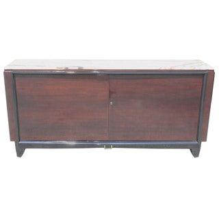 French Art Deco Macassar Ebony Sideboard / Buffet / Bar By Maurice Rinck Circa 1940s