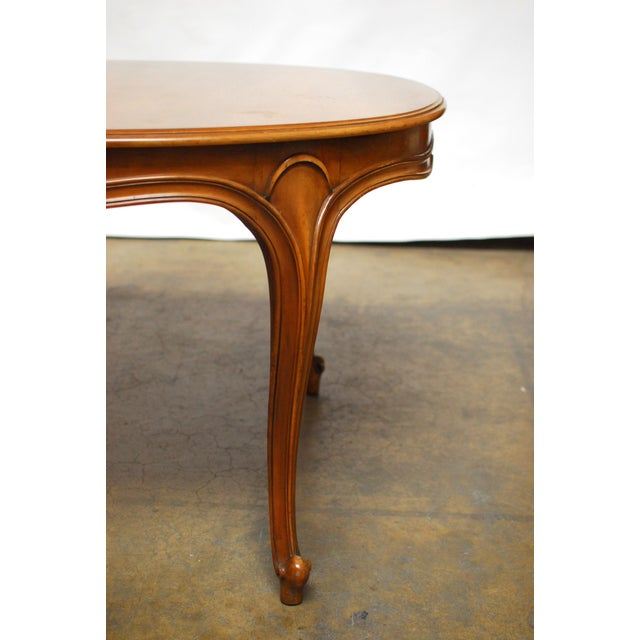 Drexel Vintage French Provincial Dining Table - Image 5 of 6