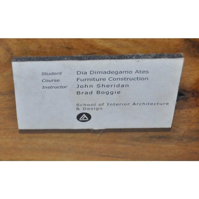 Dia Ates Hardwood Pedestal - Image 8 of 8