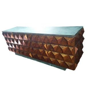 Sculptural Diamond Front Dresser